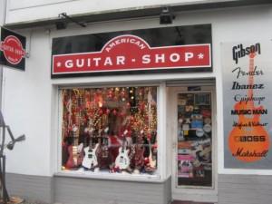 The American Guitar Shop, Amerikanische Gitarren in Berlin